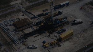 oil well pad background
